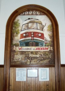 Jackson Station Painting
