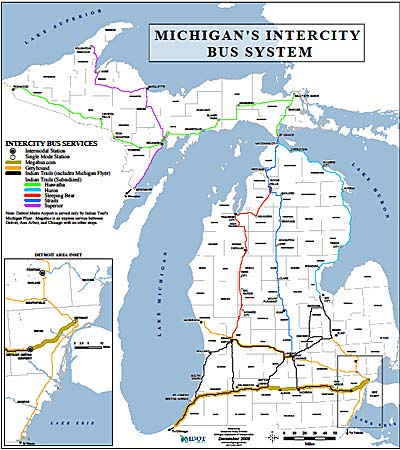 Station Locator Michigan Association Of Railroad Passengers